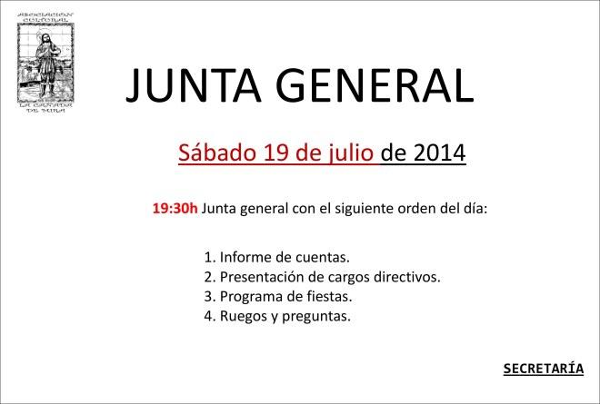 JUNTA general2